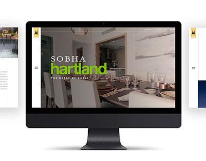 Sobha Hartland website