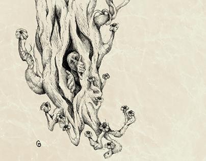 Sketchbook - Assorted Drawings