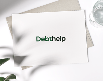 Debthelp - Bankruptcy Lawyer Brand Identity - Branding