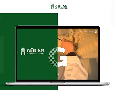 Gulab - a site for architectural construction bureau