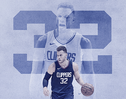 LA Clippers 2017-2018 All-Star Posters
