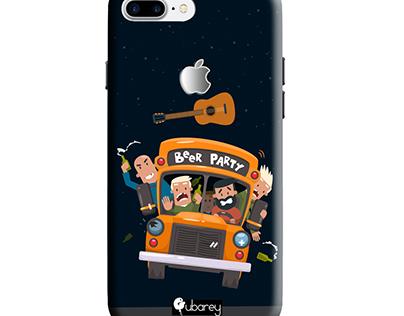 mobile back cover print design
