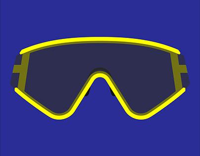 James Jannard Oakley Factory Pilot Eyeshades
