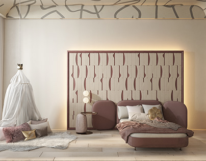 New cozy interior with Dance wooden panels