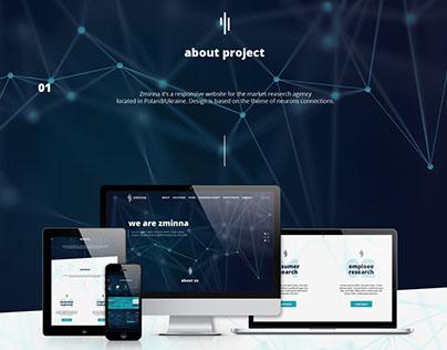 Research agency website