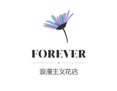Forever花店logo