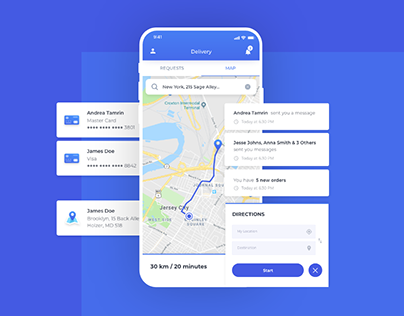 Order & Delivery App