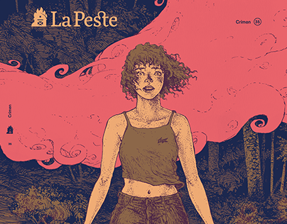 La Peste - Cover Illustration