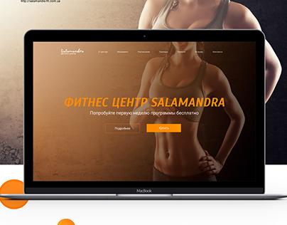 Web Design- website fitnes centre