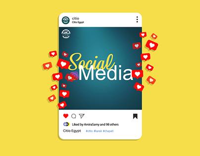 Citio Egypt - Social Media
