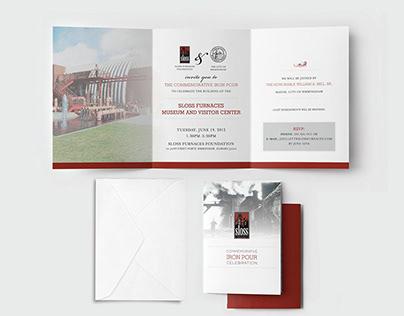 Sloss Furnaces :: Brand Development   Print Design