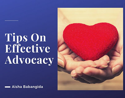 Tips For Effective Advocacy