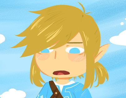 The legend of Zelda: Breath of the Wild - Illustrations
