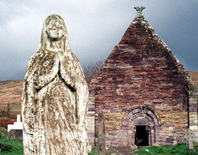 Kilmalkedar Church, Dingle, Ireland