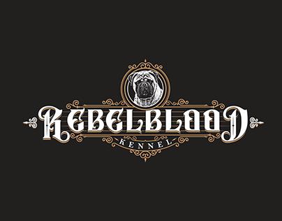 REBELBLOOD KENNEL LOGO