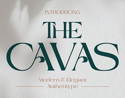 Cavas modern & elegant font