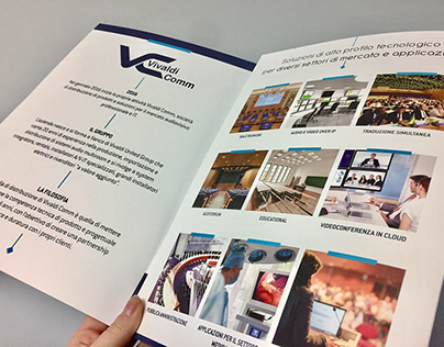 VIVALDICOMM Corporate identity