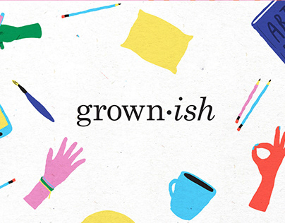 Grown-ish Graphic Promo Package (PITCH)