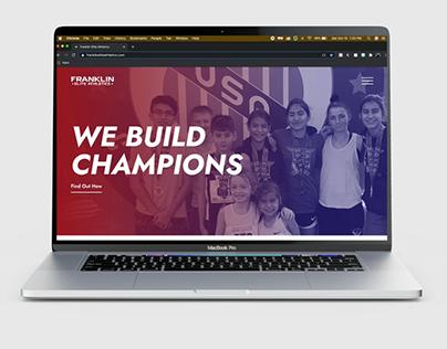 Franklin Elite Athletics website