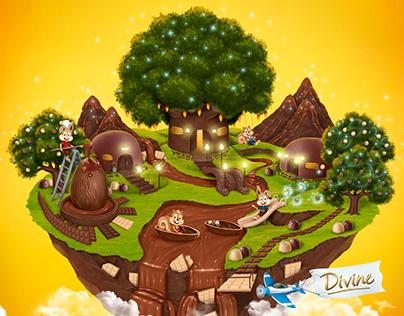 Divine Chocolates - Páscoa Encantada
