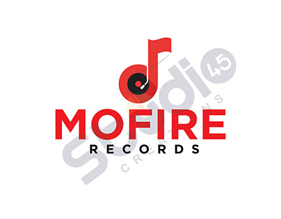 MOFIRE RECORDS / LOGO