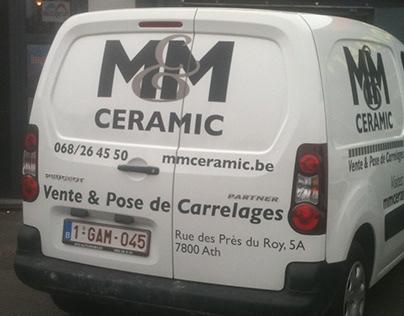 M&M Ceramic - Branding, Signage, vehicles
