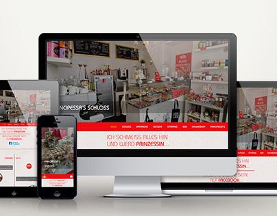 Principessa's Macarons Website