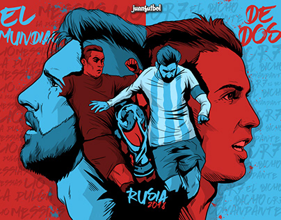 FUTBOL ILLUSTRATIONS