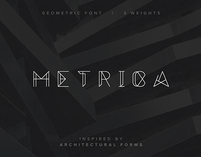 Metrica - Free Font