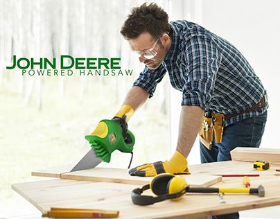 john deere powered handsaw || Redesign