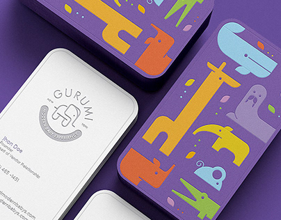 Gurumi - Logo and identity