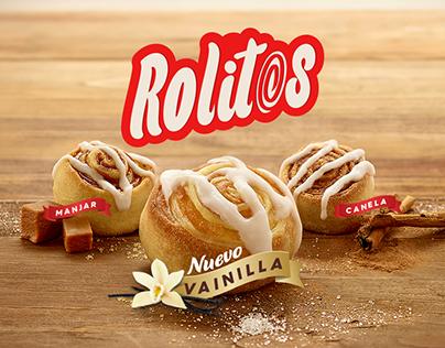 SPOT Rolitos— Telepizza