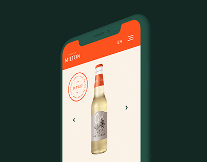 Cidrerie Milton - Site web