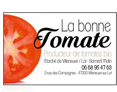 Projet personnel - Stand d'un producteur de tomates