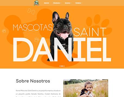 Diseño y Desarrollo web para mascotasdaniel.com