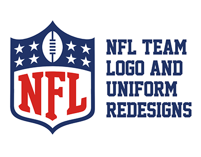 NFL Logo and Uniform Redesigns