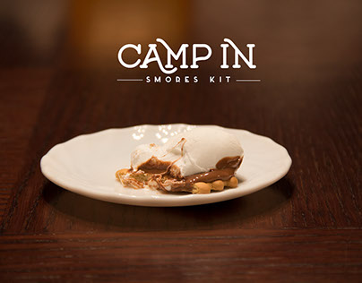 Camp in -Smore's design concept