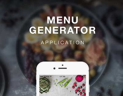 Menu Generator Application