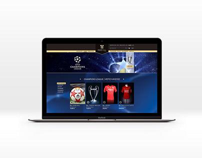 11 Football Club | eCommerce Website Design