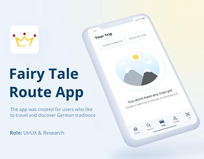 Fairy Tale Route App | IOS application