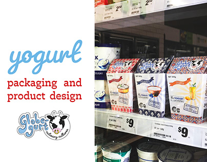 Packaging and Product Design - Yogurt