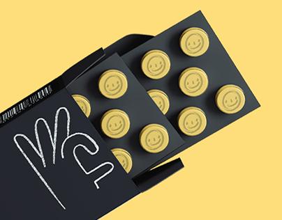 Happy Pill concept design