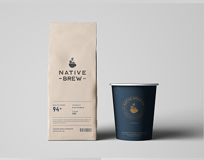 Native Brew PH Branding
