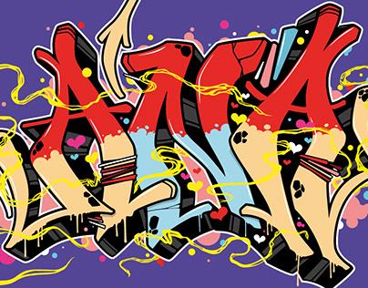 ANA Graff illustration