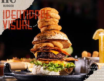 Holy Chuck Burger - Identidade Visual