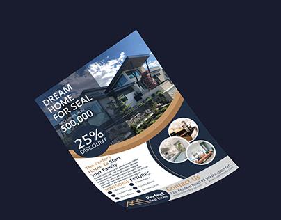 Real Estate Flyer Design 2020