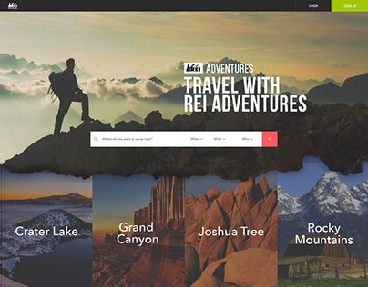 REI Adventures Website
