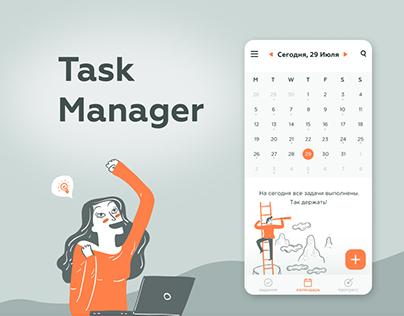Task Manager App redesign