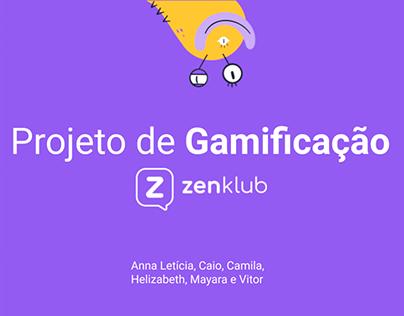 Estratégia de Gamificação - Zenklub