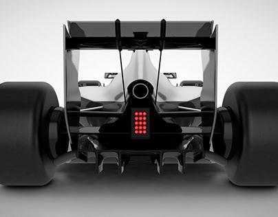McLaren F1 MP4-31 3D Model Concept